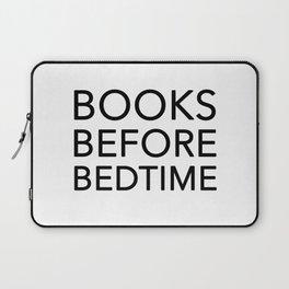 Books Before Bedtime Laptop Sleeve