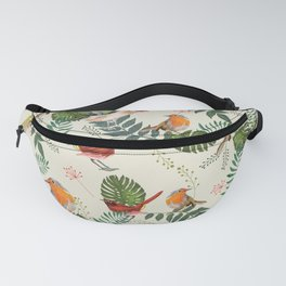 tropical fauna & colorful birds Fanny Pack