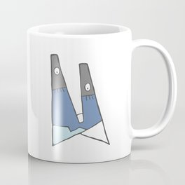 Little blue man Coffee Mug