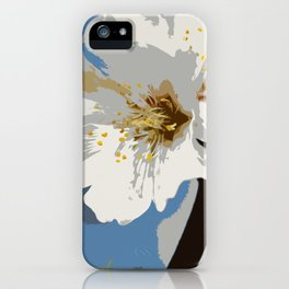 Almond Blossoms Graphic 2 iPhone Case