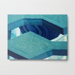 Concrete Jaws Metal Print