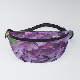 Lilac Blooms Fanny Pack