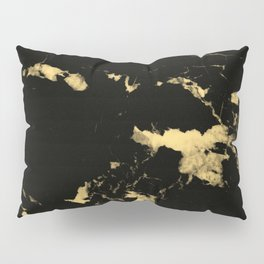 Black Marble #5 #decor #art #society6 Pillow Sham