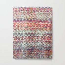Nana's Lace Repeat  Metal Print