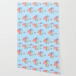 flying pig farts Wallpaper