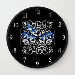 Piccolo Swirls Wall Clock