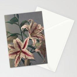 Last Orchid - Japanese Vintage Art Print Stationery Cards