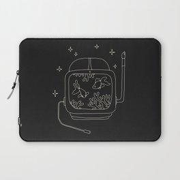 Astronaut Helmet in Water Laptop Sleeve