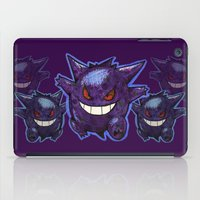gengar iPad Cases featuring Gengar by Trataka