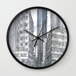 Hong Kong. Burrows street Wall Clock
