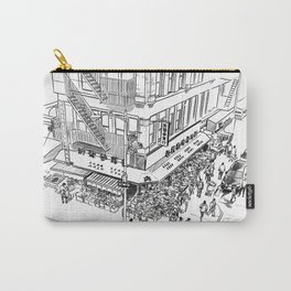 Morning hours of Chinatown - Manhattan, New York Carry-All Pouch