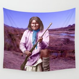 Geronimo Wall Tapestry