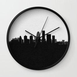 City Skylines: Louisville Wall Clock