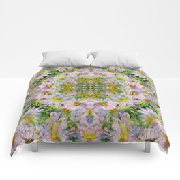 DAISEY MADNESS ABSTRACT  Comforters