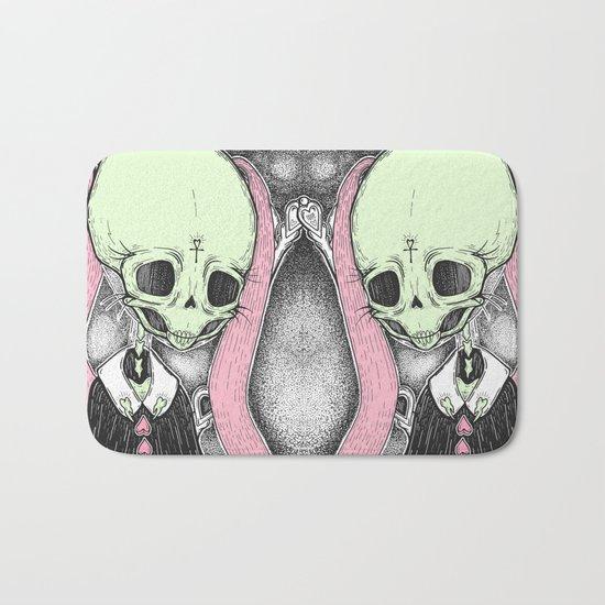Death (Tarot Cards Series 2014) Bath Mat