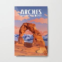 Arches National Park Metal Print