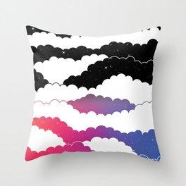 Midnight Glow Throw Pillow
