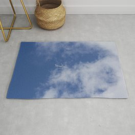 Flying Through Clouds Rug