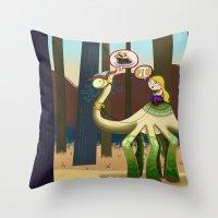 pie Throw Pillows featuring Pie? by Megan Unser