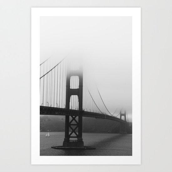 SF Golden Gate Art Print