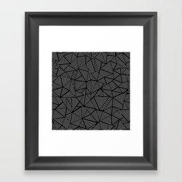 Abstraction Linear Framed Art Print