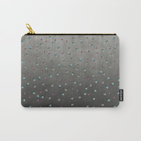 Fancy Sequin glamour pattern Carry-All Pouch