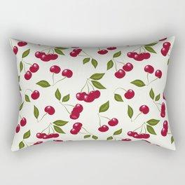 Cherry pattern . No. 1 Rectangular Pillow