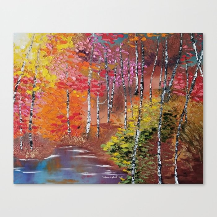 Seasons of Change Canvas Print