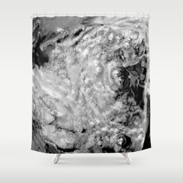 Boiling thermal water Shower Curtain