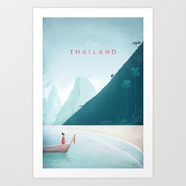 Thailand Art Print