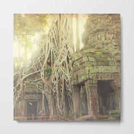 Angkor Temples Metal Print