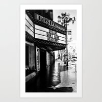 almost famous Art Prints featuring Almost Famous by K. Heffernan