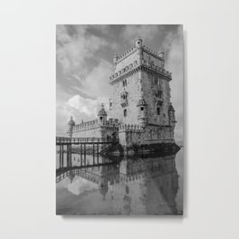 Belem Tower Lisbon 4 Metal Print