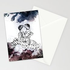 Knife Bearing Diamond Thieves Stationery Cards