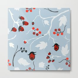 forest berry Metal Print