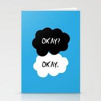 okay Stationery Cards featuring Okay by alboradas