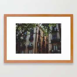 RAMBLAS Framed Art Print