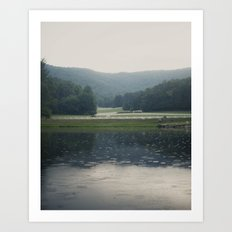 Tennessee Rain Art Print