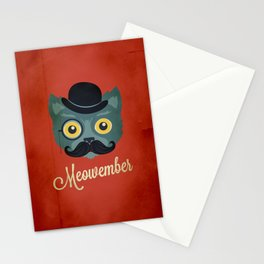 Meowember Stationery Cards