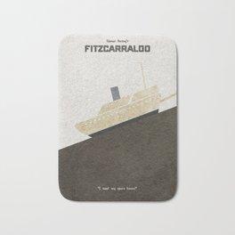 Fitzcarraldo Alternative Minimalist Poster Bath Mat