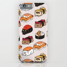 Sushi Persian Cat Slim Case iPhone 6s