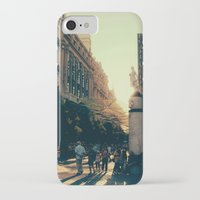madrid iPhone & iPod Cases featuring Madrid by Mario Pantoja