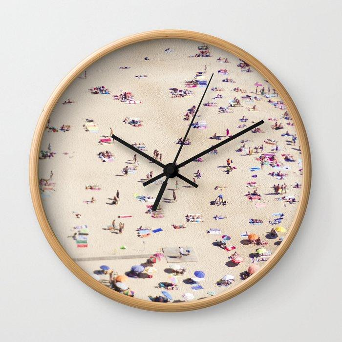 Beach Love VIl Wall Clock
