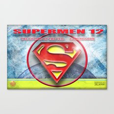 Supermen 12 The Lifting of the veil Canvas Print