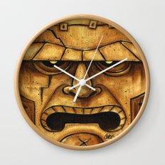 TIKI Frankenstein  Wall Clock