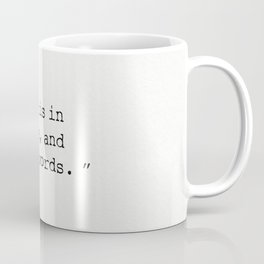 Herman Melville quote 12 Coffee Mug