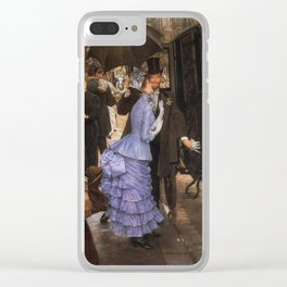 Tissot - The Traveller 1885 Clear iPhone Case