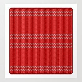 Chritmas Sweater Art Print