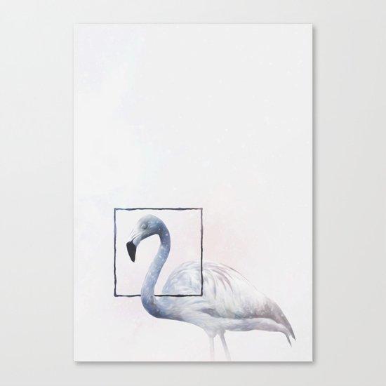 FLAM INK O Canvas Print