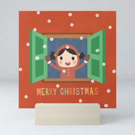 Christmas Morning Mini Art Print